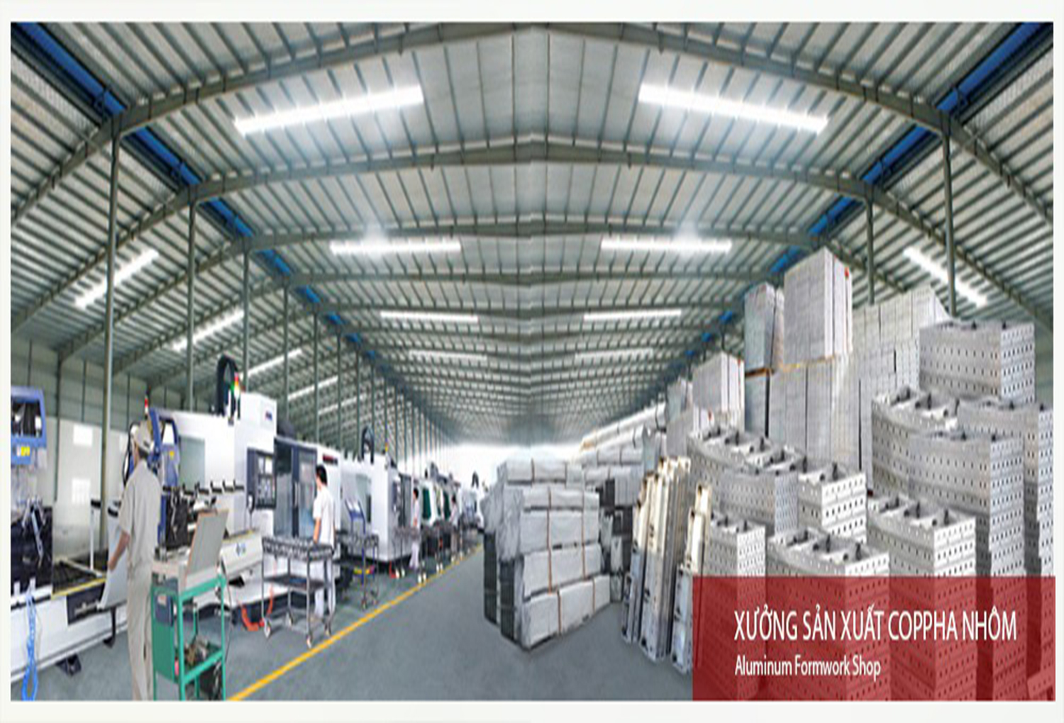 Production Of Aluminum formworks And Accessories